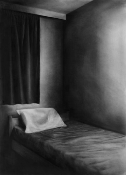 charcoal on paper, 210X150cm, 2013