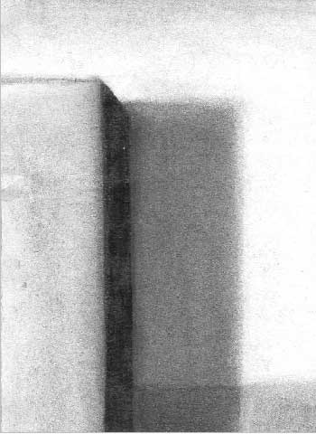 Charcoal on paper, 15,5x11,5cm,2008