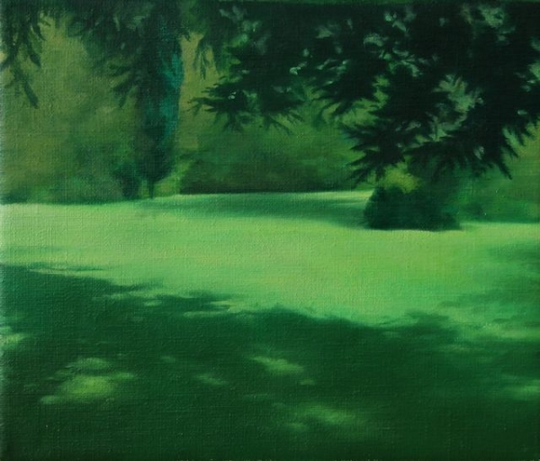 Oil on canvas,20x24cm,2011, Pr Coll
