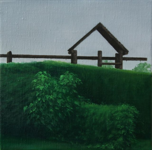 Oil on canvas, 22X22cm, 2011