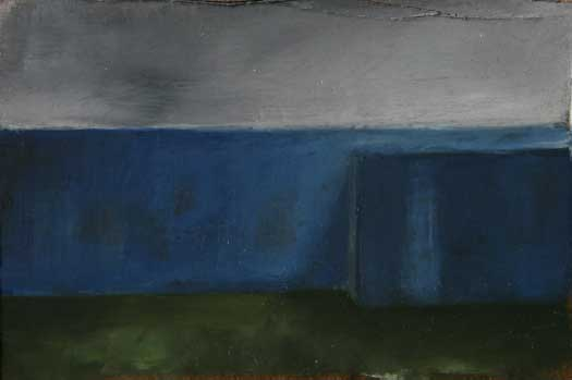 Oil on carton,9,5X15cm,2009,pr coll