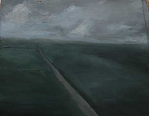 Oil on wood,15x20cm,2009, pr coll