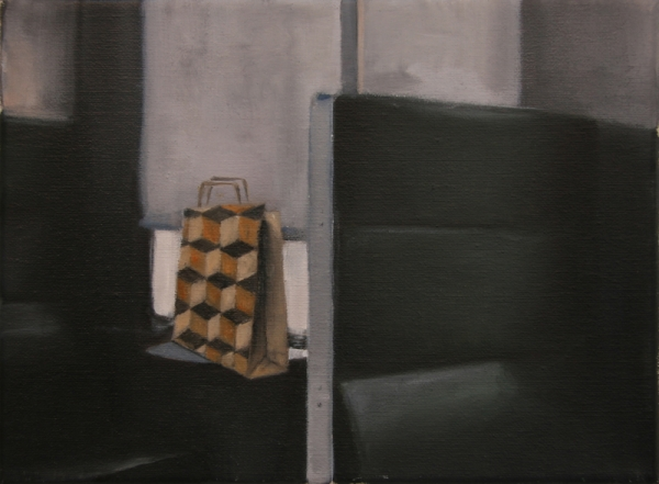 Oil on canvas, 18x24cm, 2010